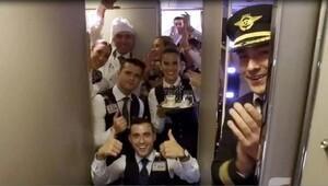 THY de modaya uydu, uçuş ekibi dondu