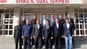 Sivasspordan Kayaya hayırlı olsun ziyareti