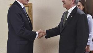 Kılıçdaroğlu, Norveç Büyükelçisi Ellefsenle görüştü