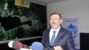 İSU Genel Müdürü İlhan Bayram: Barajdaki su elektrik elde etmek için boşaltıldı
