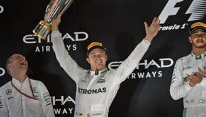 Rosbergler Formula 1in ikinci baba-oğul şampiyonları