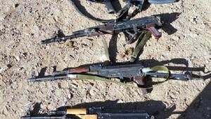 Nusaybinde 5 PKKlı terörist ölü ele geçti