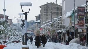 Erzurum, Erzincan, Ağrıya kar uyarısı
