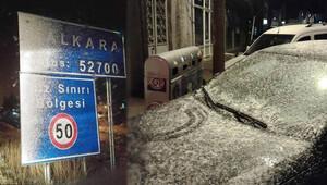 Kar Trakyadan giriş yaptı