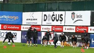 Beşiktaşta derbi hazırlıkları başladı