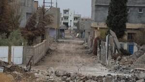 Nusaybinde bir sokakta giriş yasağı kalktı