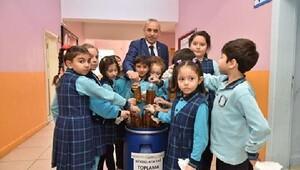 Altınordu Belediyesi okullarda atık yağ toplama yarışması başlattı