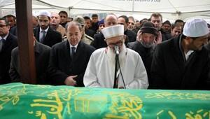 Bakan Akdağın dayısının cenazesinde yoğun güvenlik önlemi