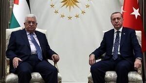 Abbas ile Erdoğan telefonda görüştü