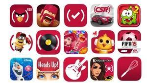 Apple uygulamaları kırmızı renge büründü