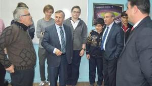 Kaymakam Kaya, Atatürk Anadolu Lisesi'ni ziyaret etti
