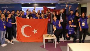 Dijital girişimciler yarışında 8 ülkenin birincisi oldu