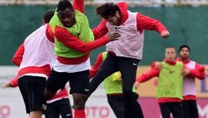Antalyasporda gol antrenmanı
