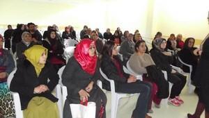 Şereflikoçhisarda Anne-Baba Eğitimi semineri