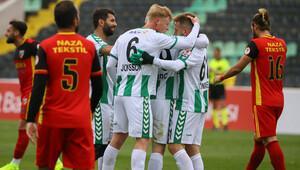 Kızılcabölükspor: 0 - Atiker Konyaspor: 4