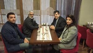 Talabaninin Ankara Temsilcisi Demirtaş, Türk ve Kışanakın ailelerini ziyaret etti