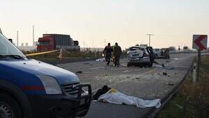 Lüleburgazda trafik kazası: 2 ölü