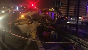 Bahçelievlerde trafik kazası: 2 ölü