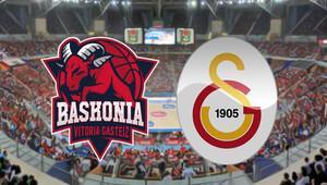 Baskonia Galatasaray Odeabank Euroleague maçı saat kaçta hangi kanalda - THY Avrupa Ligi