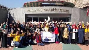 Şehirler ve Kültürler Projesi'ne Kırıkale'den 600 genç katıldı
