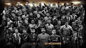 Dünyada Yılın 11i için 55 kişilik aday listesi belli oldu
