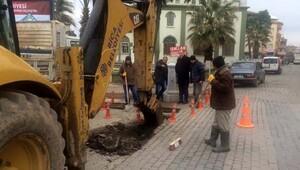 Biga Belediyesi'nden 'Kanalizasyon çöplük değildir' uyarısı