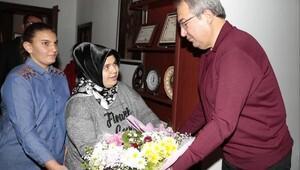 Nevşehir'deki özel insanlar, belediye başkanı ünver'i ziyaret ettiler