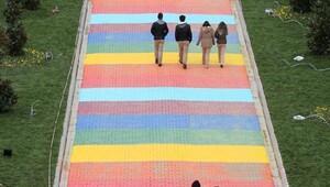 Sevgi Yolu Nilüfer'e renk kattı