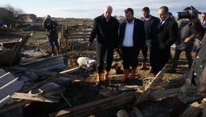 TZOB Başkanı Bayraktar, selin vurduğu Ayvalıkta