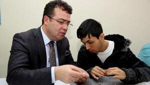 Atakum Belediye Başkanı Taşçı'dan engellilere 'istihdam' katkısı