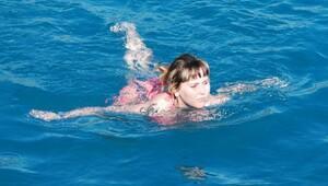 Antalyada Aralıkta deniz keyfi