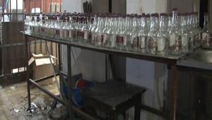 Tam da yılbaşı öncesi... Binlerce şişe