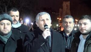 AGD üyeleri Ayasofya Meydanında teheccüd namazı kıldı