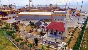 Asyaport Limanında 3 semavi dinin ibadethaneleri açıldı