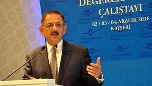 Bakan Özhaseki: Bazı çevrecilerin iyi niyetinden şüphe ederim