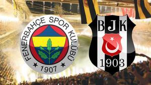 Fenerbahçe 0-0 Beşiktaş / CANLI ANLATIM