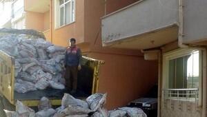 Malkarada ihtiyaç sahiplerine 3 bin 200 ton kömür dağıtıldı