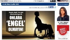Trabzon Barosu'ndan Dünya Engelliler Günü açıklaması