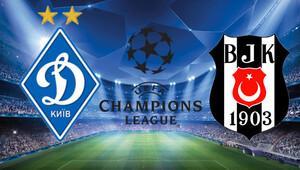 Dinamo Kiev Beşiktaş maçı saat kaçta hangi kanalda şifreli mi yayınlanacak - Şampiyonlar Ligi B Grubu