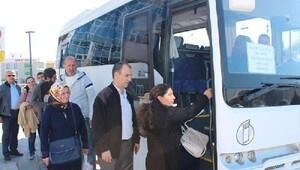Karşıyaka'dan Çiğli'ye sağlık servisi