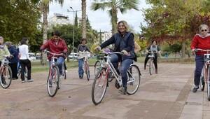 Muratpaşadan bisiklet eğitimi