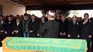 CHP'li Tanrıkulu'nun babası son yolculuğuna uğurlandı