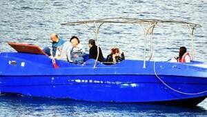 Sığınmacıları taşıyacak tekneyi denerken yakalandılar