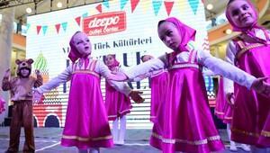 Türk ve Ruslar dostluk festivalinde buluştu