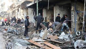 İdlibe hava saldırısı.. Çok sayıda ölü ve yaralı var