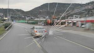 Atiker Konyaspor: Takım otobüsümüz Alanyada taşlandı