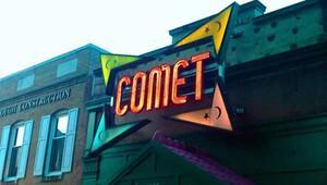 Comet pizzaya saldırı girişimi