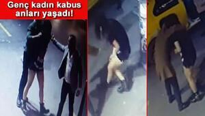 Şişlide bar çıkış dehşet Genç kadını da dövdüler