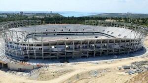 Adana Stadının yüzde 70i bitti