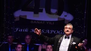 Faik Kasapoğlundan 40ıncı yıl konseri